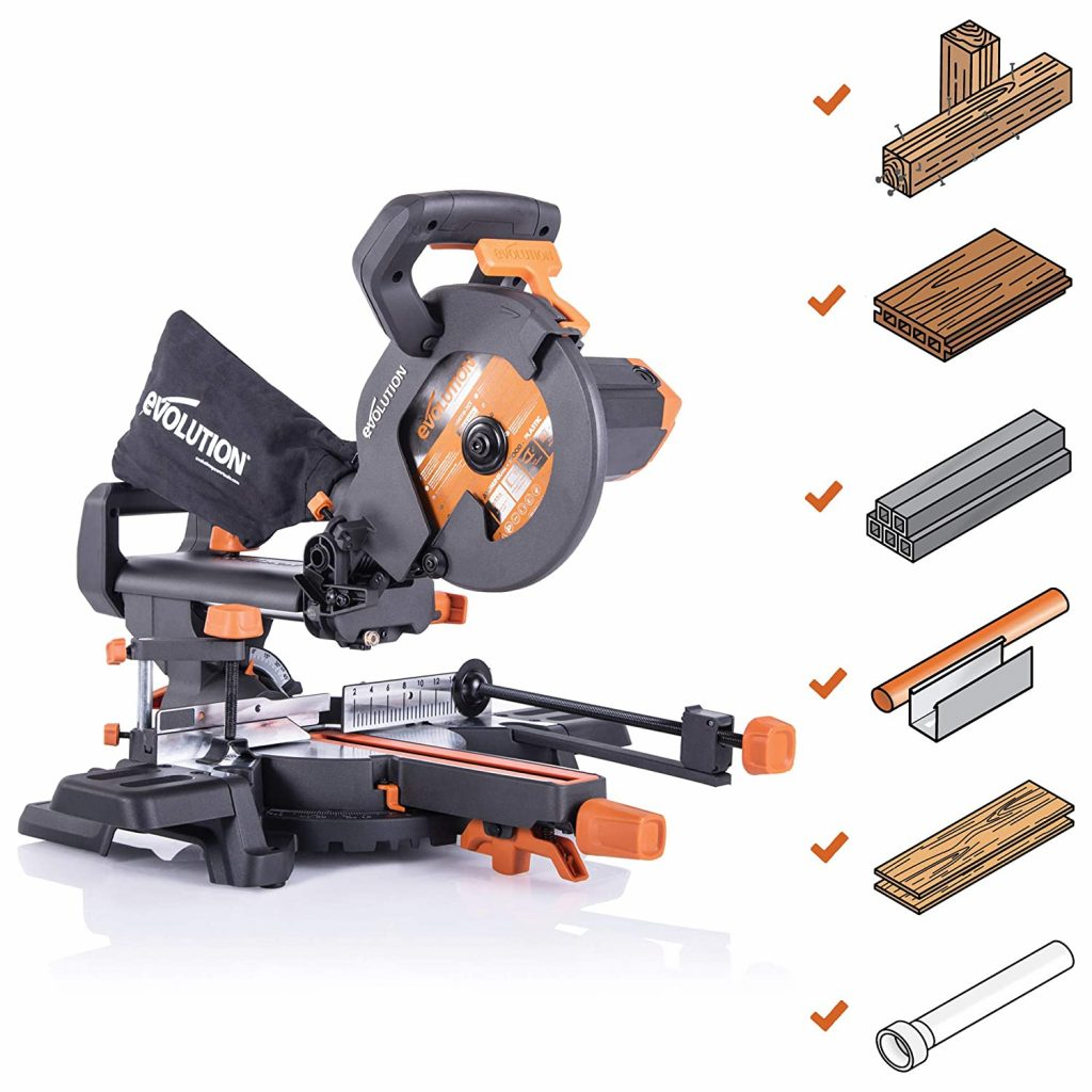 Evolution Power Tools - R210SMS+