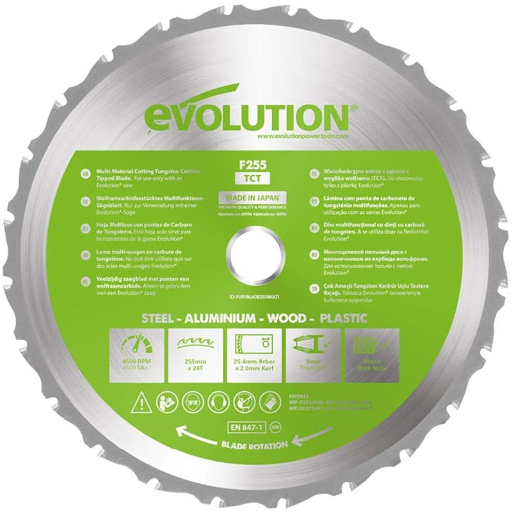 4.1 Disco Multimateriale EVOLUTION POWER TOOLS F255-TCT
